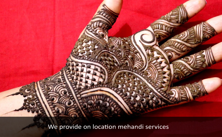 Traditional Mehandi
